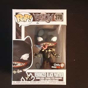 Gamestop Exclusive Venom As Black Panther Pop